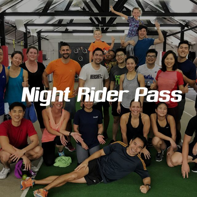 Speed Fitness Night Rider Pass